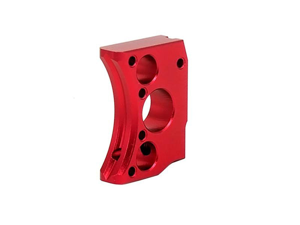 Airsoft Masterpiece Aluminum Trigger Type 12 (Red)