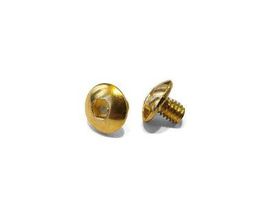 Airsoft Masterpiece Hi-Capa Grip Screws (Gold)