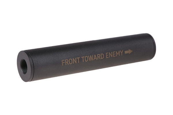 """Front Towards Enemy"" Covert Tactical Standard 35x150mm silencer"