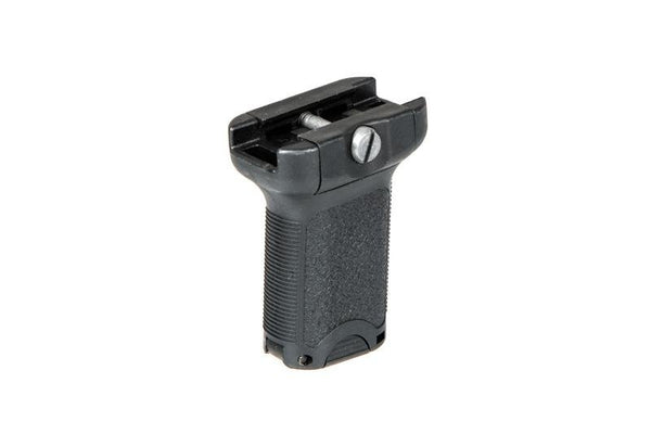 Angled tactical RIS grip