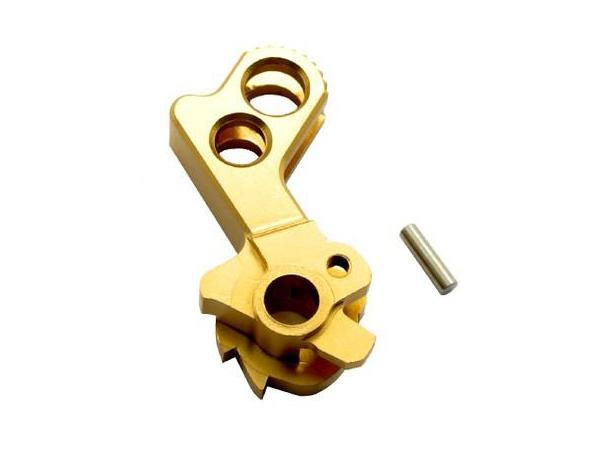 DP Match Grade CNC Stainless Steel Hammer for Hi-Capa (Type C, Gold)