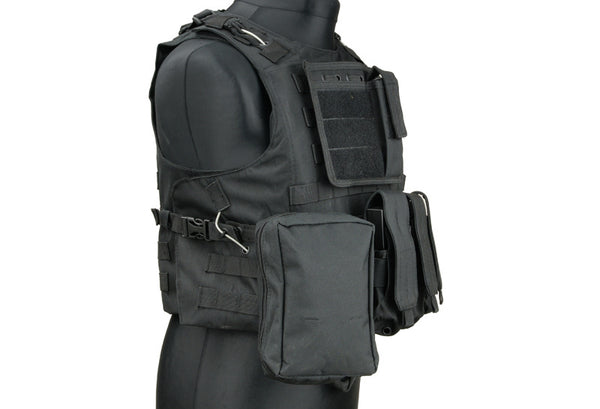 Black FSBE Tactical Vest (Small)