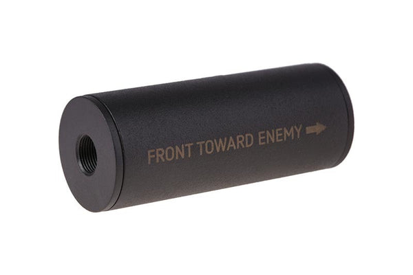 """Front Toward Enemy"" Covert Tactical Standard 40x100mm Silencer"