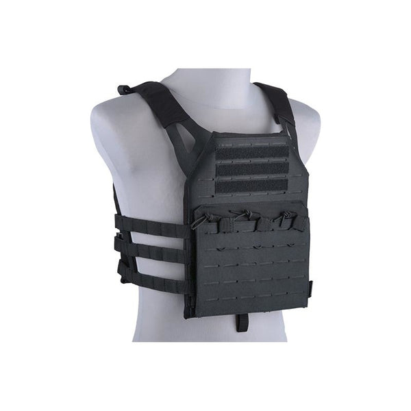 GFC Tactical Laser Cut Plate Carrier Black