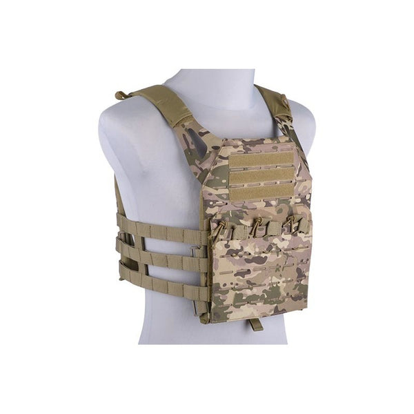 GFC Tactical Laser Cut Plate Carrier CAMO