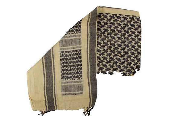 Shemagh Scarf Tan/Black