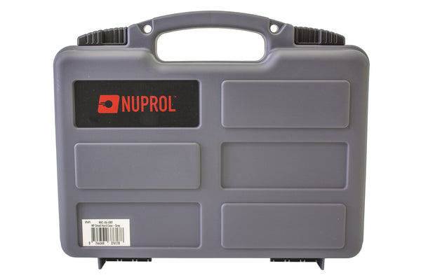 Nuprol small hard case (Wave Foam) Grey