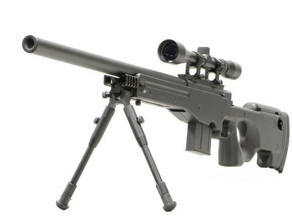 L96 AWS MA4401D + SCOPE AND BIPOD - BLACK