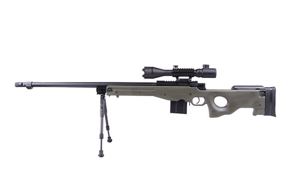 WELL MB4402-D Green Sniper Rifle