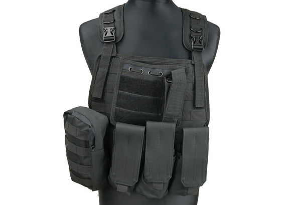 MBSS Plate Carrier type Tactical Vest – black