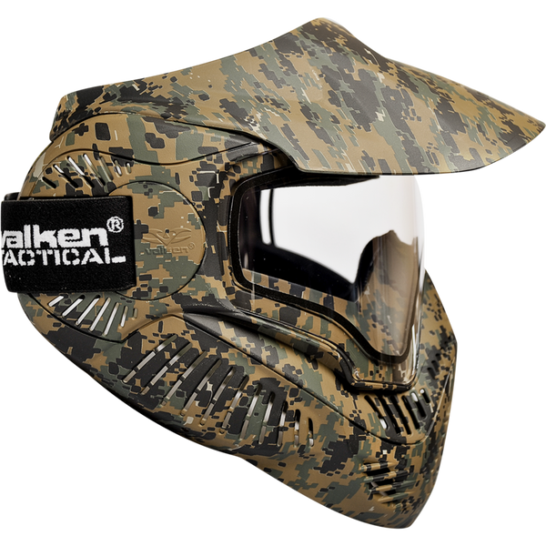 Valken MI-7 Goggle/Mask with Dual Pane Thermal Lens