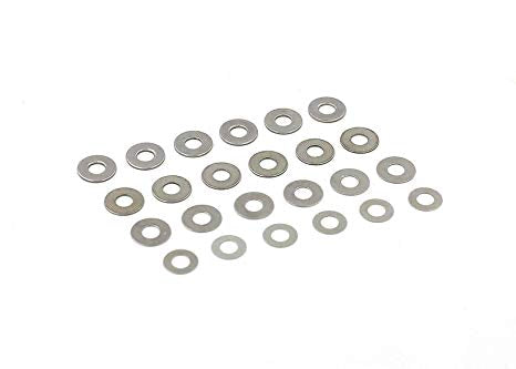 Modify Shim Set (0.1mm, 0.15mm, 0.3mm 0.5mm) for Airsoft AEG Gearbox