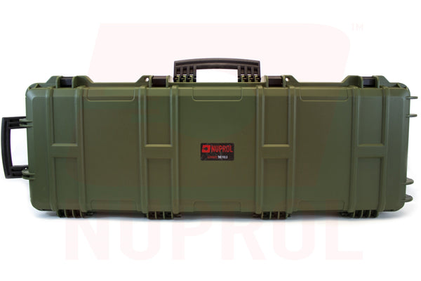 Nuprol Large Hard Case Olive Wave Foam