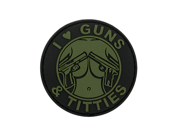 Guns & Titties PvC Patch