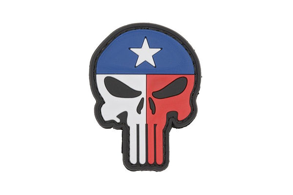 Punisher Texas Flag - 3D Badge