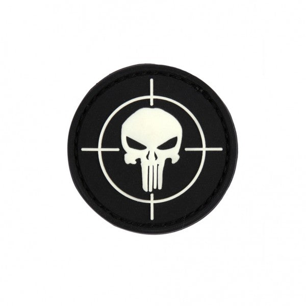 Black Punisher morale patch - 3D Badge
