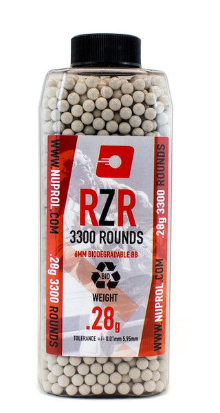 RZR 3300RND 0.28G Biodegradable BB'S