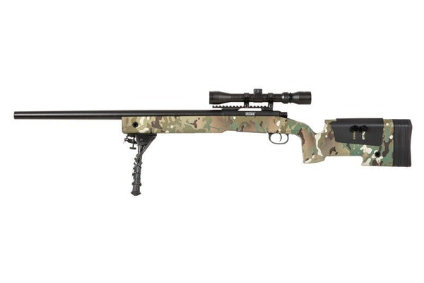 SA-S02 CORE™ Sniper Rifle Replica with Scope and Bipod - MC