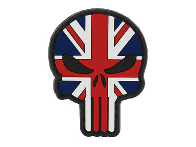 Punisher Union Jack Skull Patch