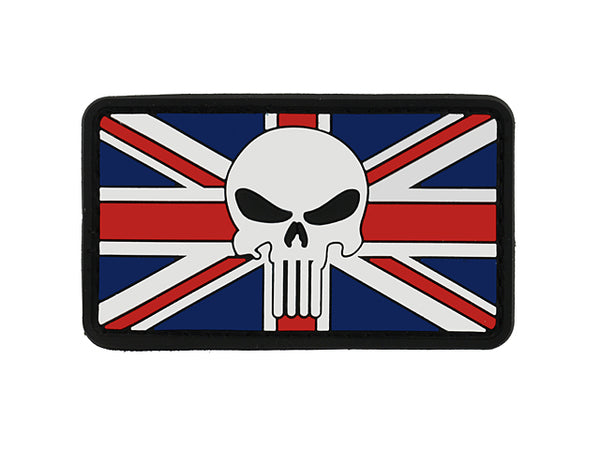 Punisher Skull Union Jack Patch