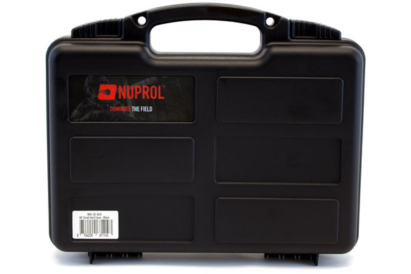 Nuprol Pick and Pluck Small Hard Case Black