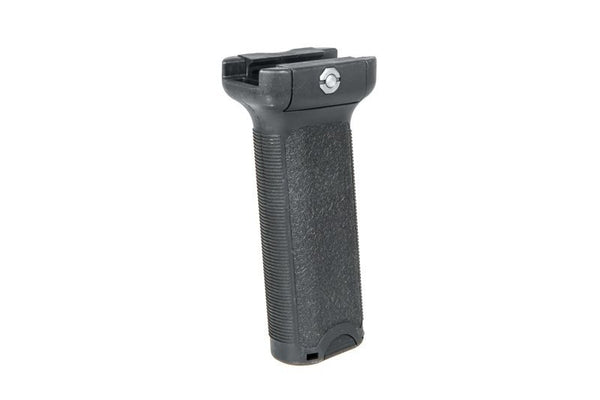 Angled tactical RIS grip - long