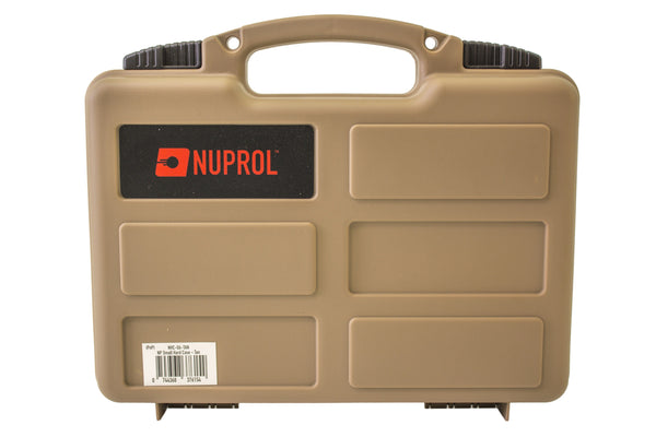 Nuprol small hard case (Wave Foam) - Tan