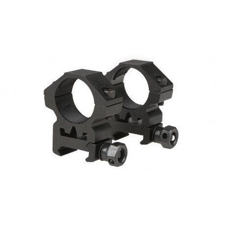 Two-part 25mm sight mount for RIS rail (low)