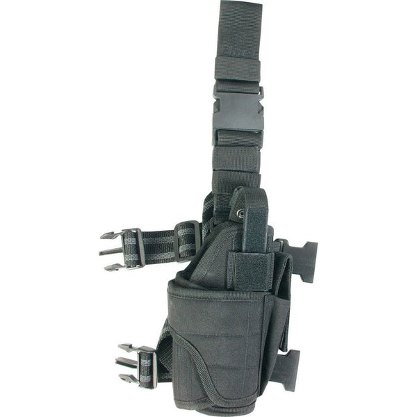 Viper Tactical Adjustable right handed leg holster - Black