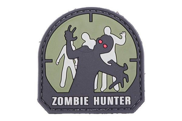 Zombie Hunter morale patch - 3D Badge