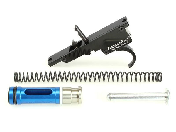 Airsoft Pro Full Upgrade Zero Trigger Set for TM AWS & Well MB44XX - Gen.3 M140