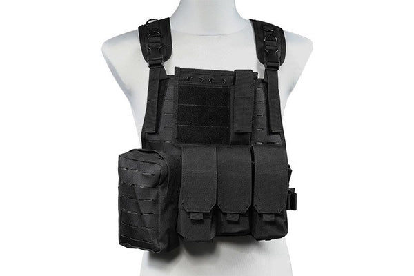 MBSS Laser Cut Tactical Vest – black
