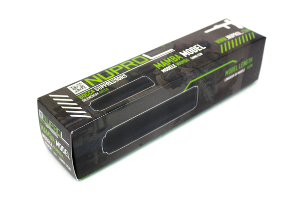 Nuprol Bocca Suppressor Mamba Model - BLACK