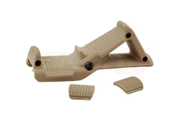 FMA Angled Fore Grip Large Tan