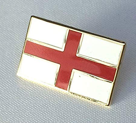 St George Flag Pin Badge