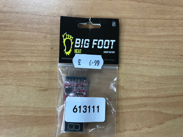 Big Foot Airsoft Battery Tester with Digital Read Out