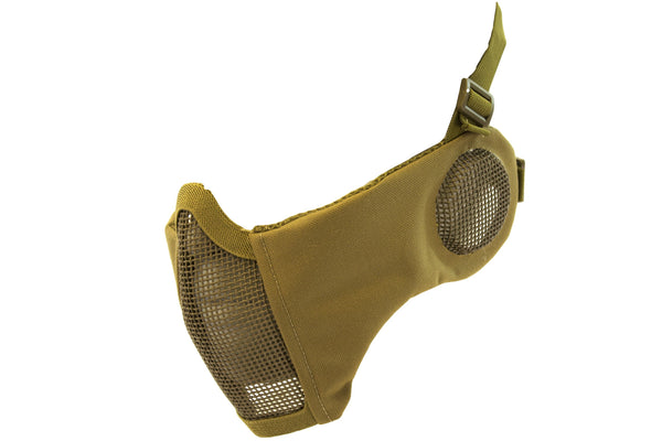 NP MESH LOWER FACE SHIELD V3 - TAN