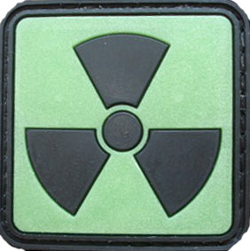 Radioactive morale patch - 3D Badge
