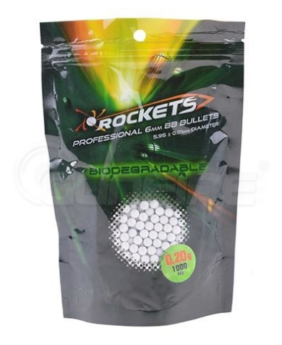 Rockets 0.20g BBs 1000pcs