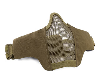 Rebel Tactical Mesh Mask Tan