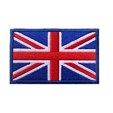 Union Jack Sew-on Morale Patch
