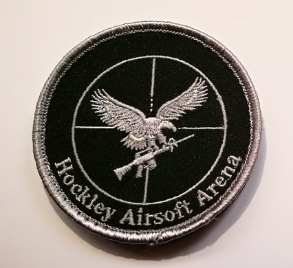 Hockley Airsoft Arena Velcro Patch