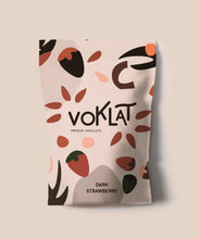 Load image into Gallery viewer, 100g VOKLAT VEGAN Dark Strawberry Chocolate