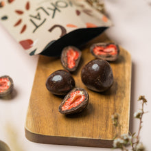 Load image into Gallery viewer, VEGAN Dark Choc Strawberry Box (Valued at $59.00)