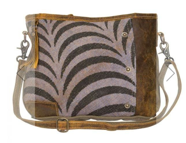 Myra Stripy Shoulder Bag - Regular - Default