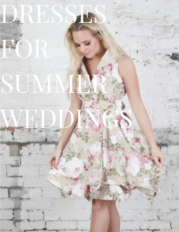 Dresses for a summer wedding