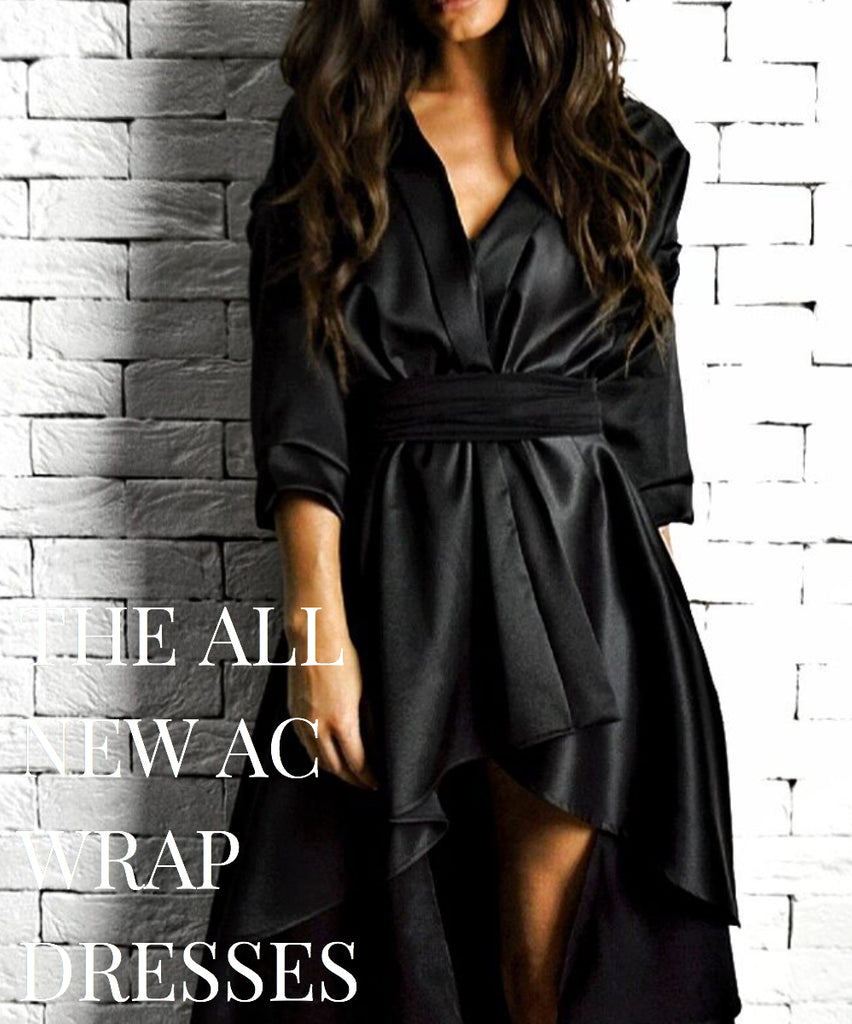 The all new limited edition Wrap Dress