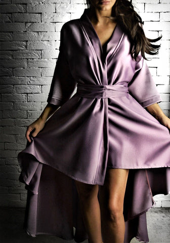 Lilac Wrap Dress | Dresses for the races | ETTO Boutique