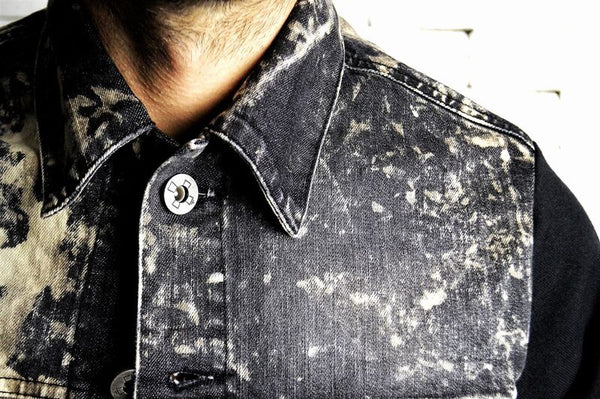 Denim Bleached Jacket