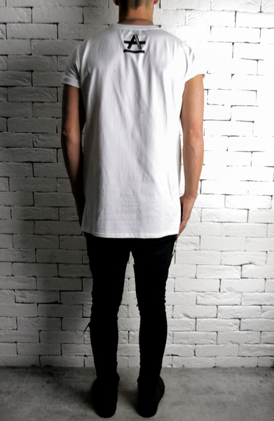 ANONYMOUS Geometric T-Shirt - White